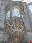 particolare della finestra del palacio da pena sintra