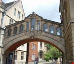 Il ponte dei Sospiri di Oxford