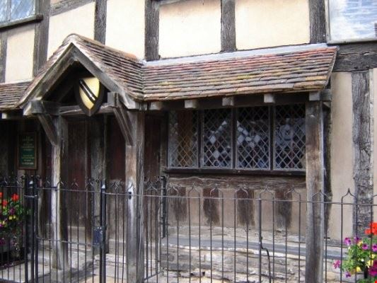 Shakespeare's birthplace - la casa natale di Shakespeare