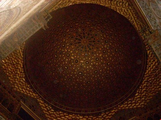 Particolare soffitto del Real Alcazar