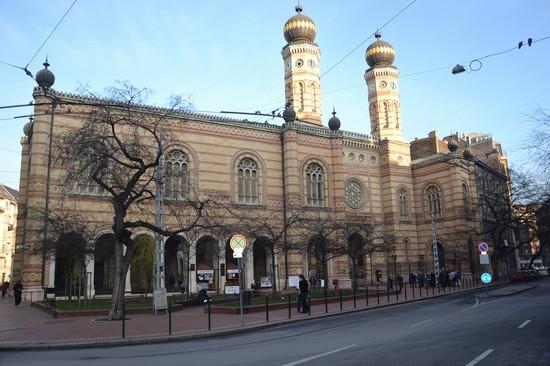 Foto Sinagoga A Budapest - 550x366