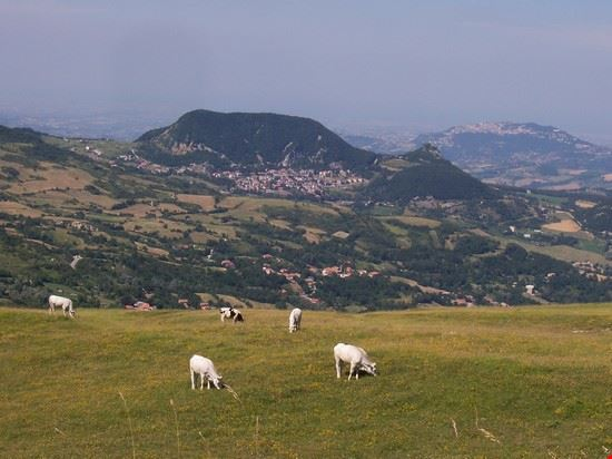 Panorama Montecopiolo (Vista sul capoluogo Villagrande)