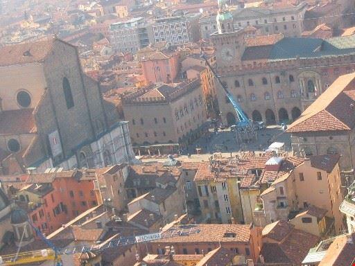 Torre Asinelli: Panorama dall'alto