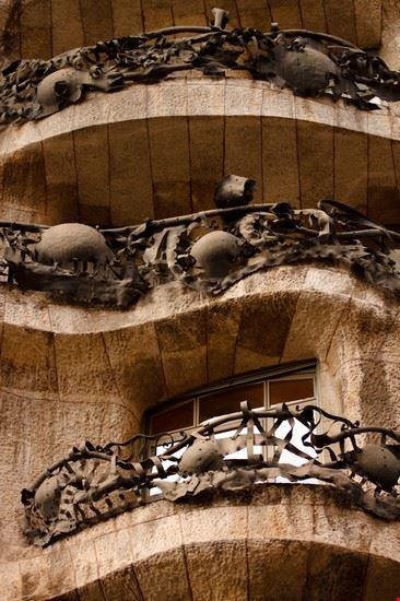 Balcone Casa Milà