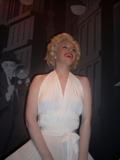 Marylin Monroe- Madame Tussauds