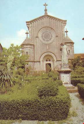 Chiesa principale nell'interno della Certosa