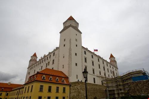57272 bratislava castello di bratislava