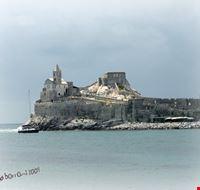 57369 la chiesa di san pietro-portovenerevista dalla palmaria portovenere