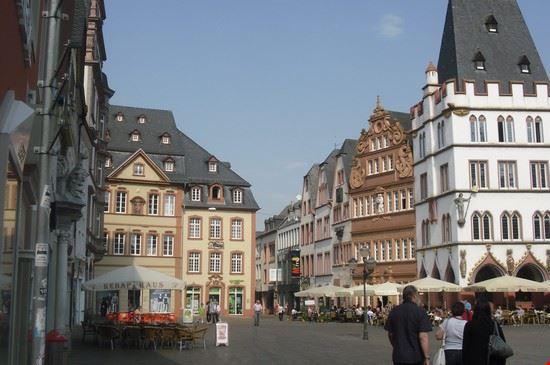 piazza marktplatz trier