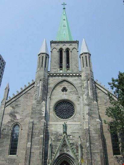 montreal basilica di san patrizio
