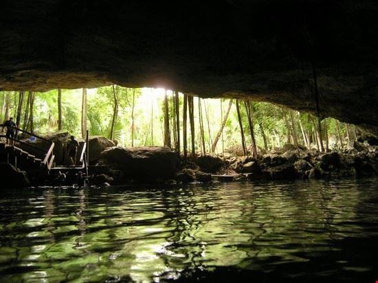 Snorkeling in Cenote Dos Ojos