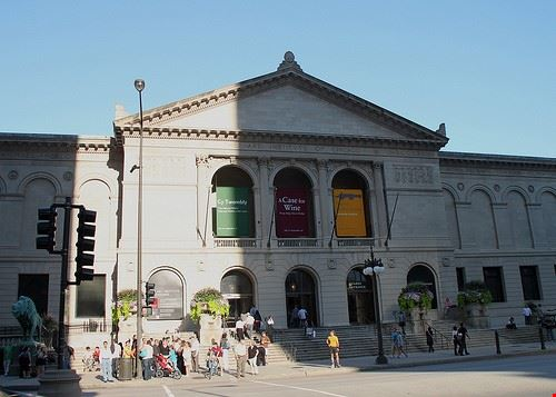 57534 chicago la facciata dell  art institute