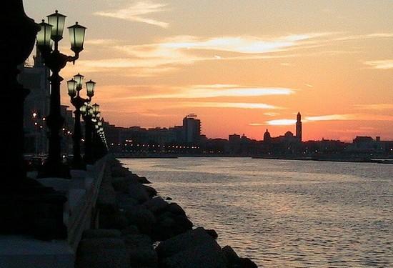 bari lungomare tramonto az - photo#13