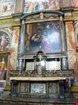 milano affresco sull  altare