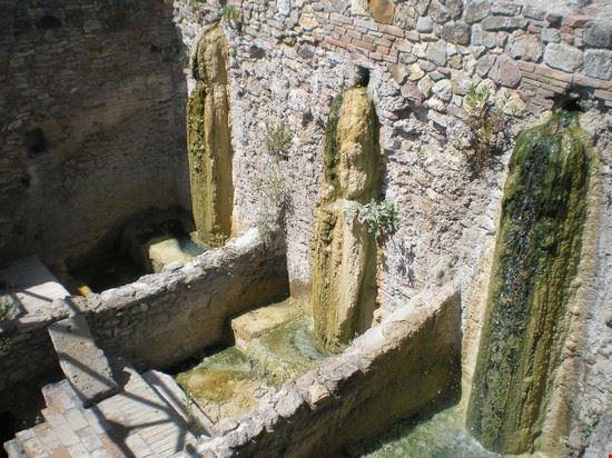 Bagno vignoni le terme di santa caterina a san quirico d - Bagno vignoni mappa ...
