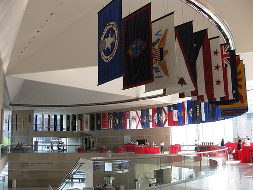 Foto l 39 atrio del national constitution center a - Interior design jobs philadelphia ...