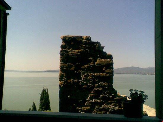 perugia veduta dal borgo di monte sul lago