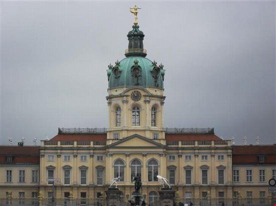 Castello di Charlottemburg facciata