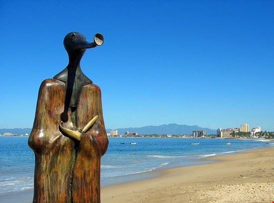 spiaggia e mare puerto vallarta