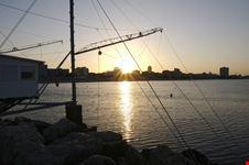 Il Molo di Milano Marittima al tramonto