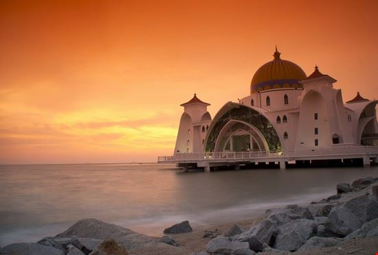 Sunset in Melaka
