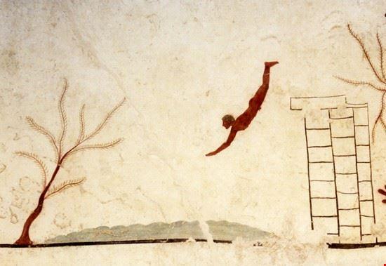 58940 paestum la tomba del tuffatore