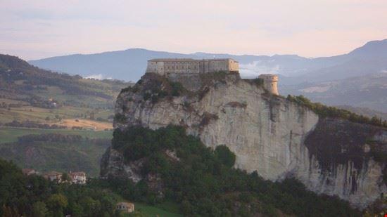 vista da monte San Severino