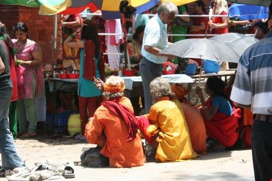 gente di nepal kathmandu