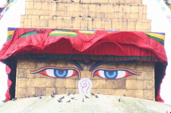 buddha eyes kathmandu