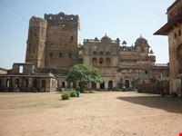 particolare di orchha jaipur