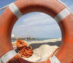 vista dal salvagente misano adriatico