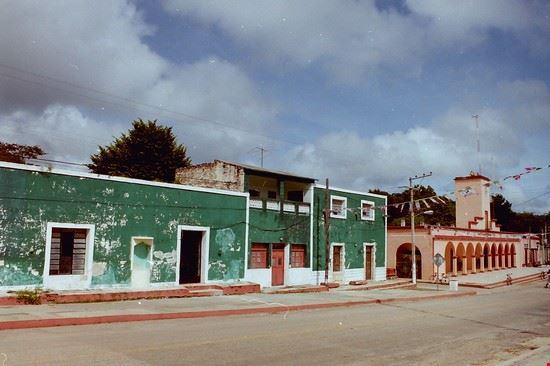 villaggio messicano merida