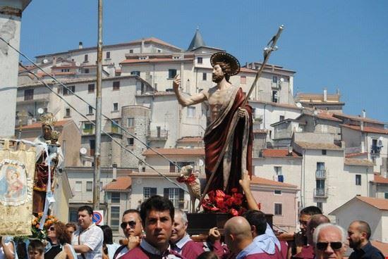 Statua S:Giovanni battista by Vincenzo Di Stefano