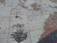Cartografia conquiste portoghesi sotto il Monumento alle Scoperte