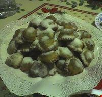 Caggiunitt , dolci di Natale tipici del teramanono