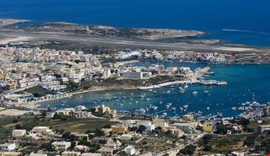 porto e aeroporto isola di lampedusa