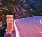 Confine Svizzera - Italia, versante svizzero