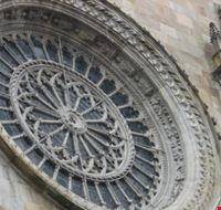 Rosone frontale del Duomo di Como