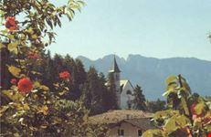 La chiesa dedicata all'Invenzione della Santa Croce