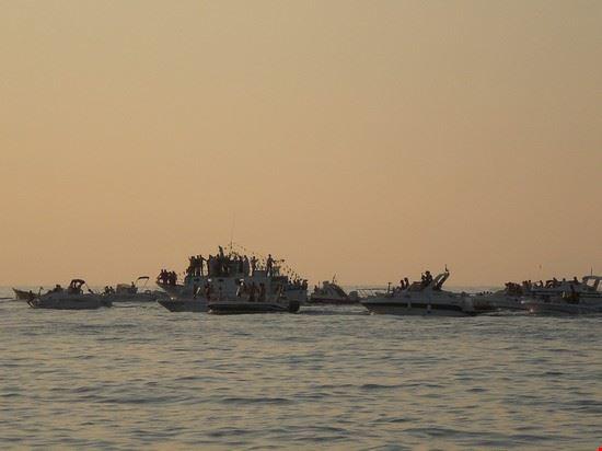 processione a mare di Maria SS.
