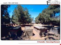 Area archeologica al castello di Lipari