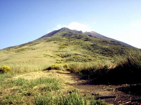 Sentiero per il vulcano di Stromboli