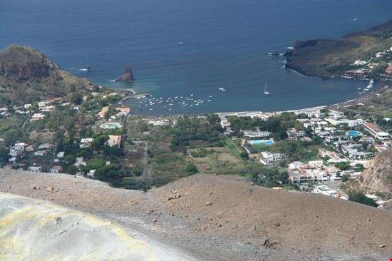 63389 veduta sulla baia di ponente isola di vulcano