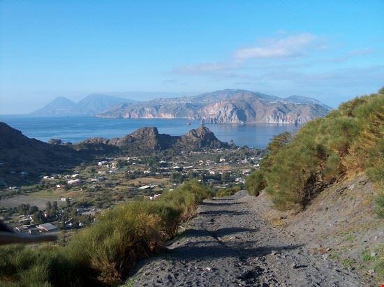 Sentiero per il cratere