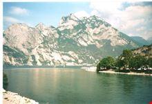 Il Lago di Garda visto da Riva