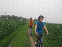 Cycling to Hanoi suburb day trip