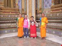 Primo incontro con i monaci