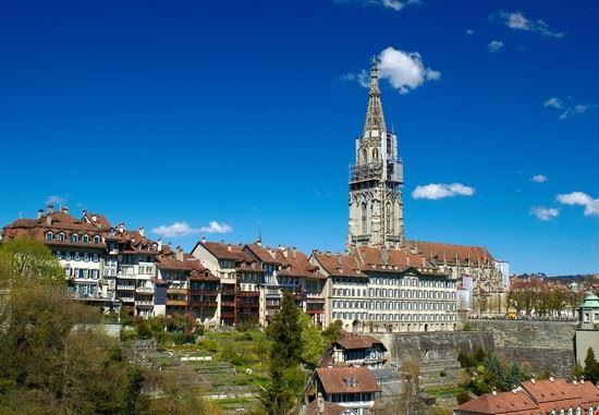berna vista della cattedrale