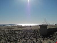 la spiaggia di inverno valencia