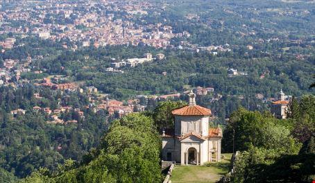 Veduta del Sacro Monte